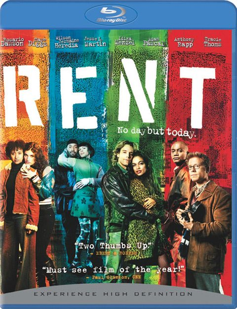Blu ray cover of Rent