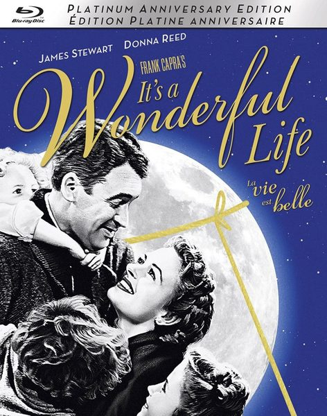 Blu ray cover of It's a Wonderful Life