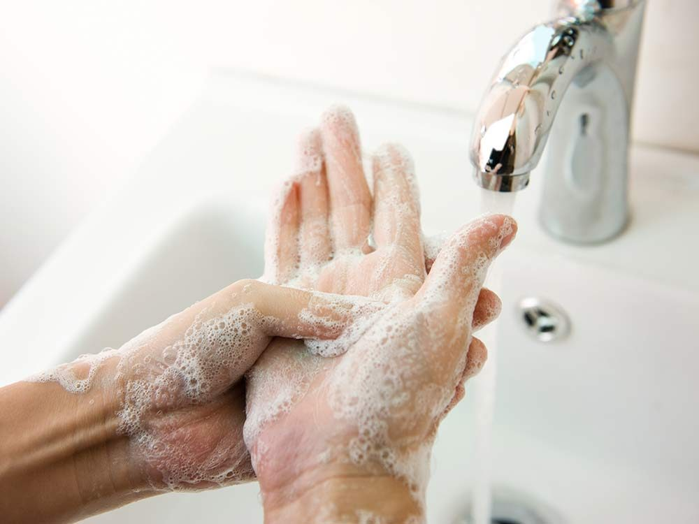 Washing hands are one of the main OCD symptoms