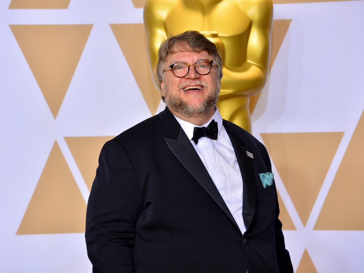 Guillermo Del Toro at the Academy Awards