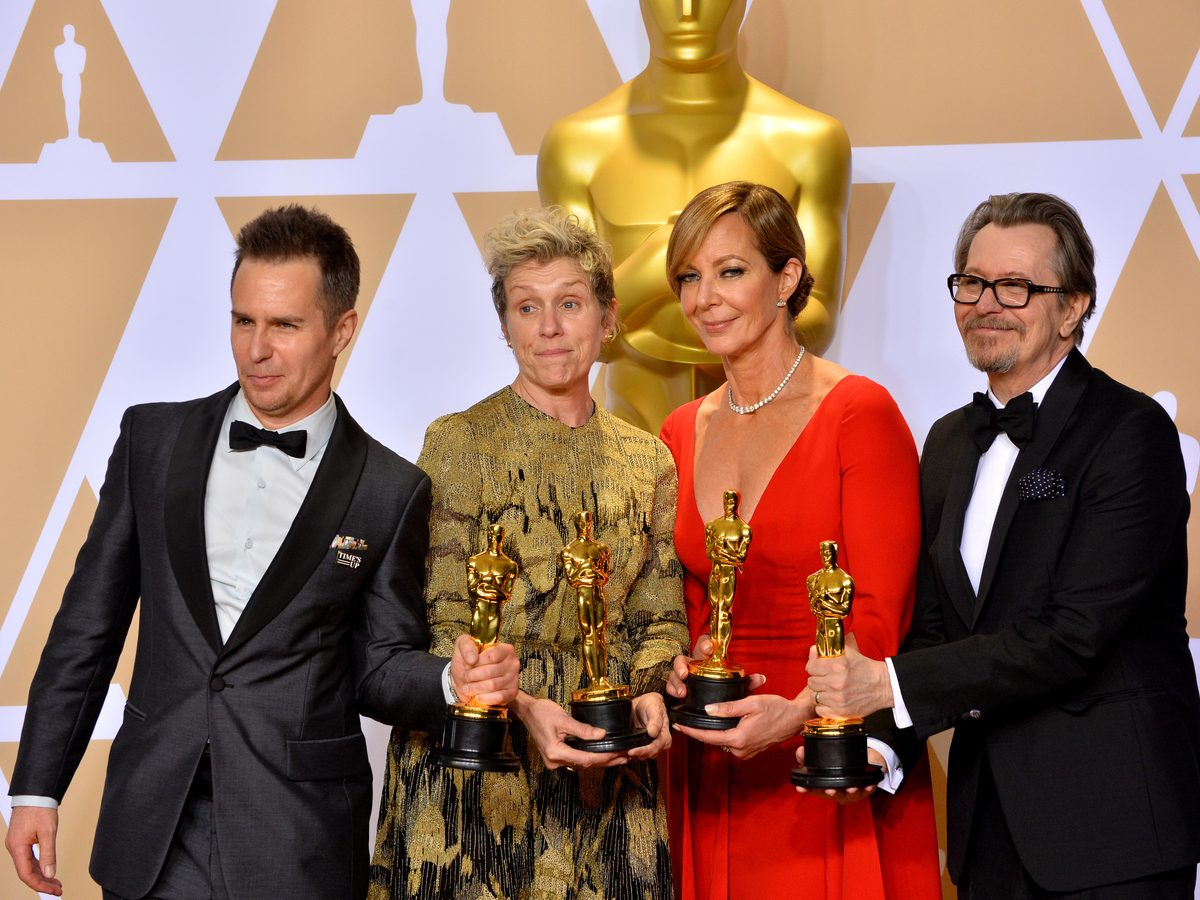 Sam Rockwell, Frances McDorman, Allison Janney and Gary Oldman