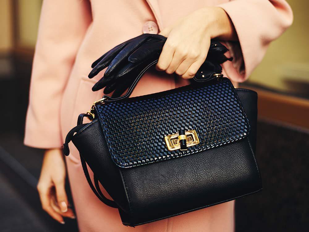 A sturdy handbag makes you look expensive