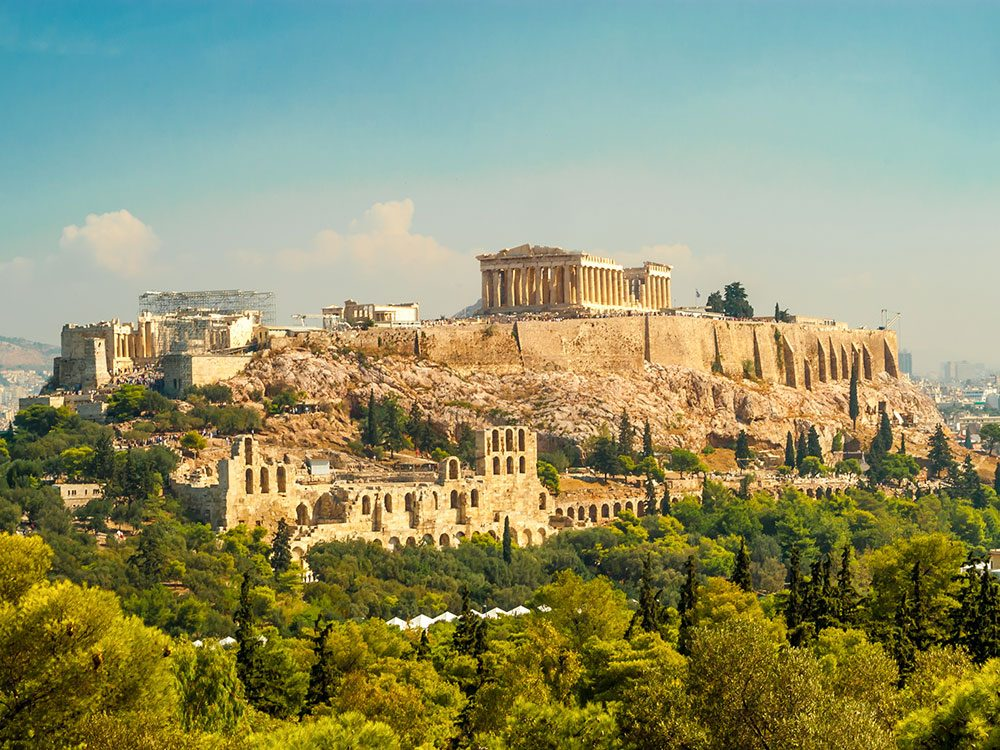 Athens, Greece, is one of Canada's hottest March Break travel trends