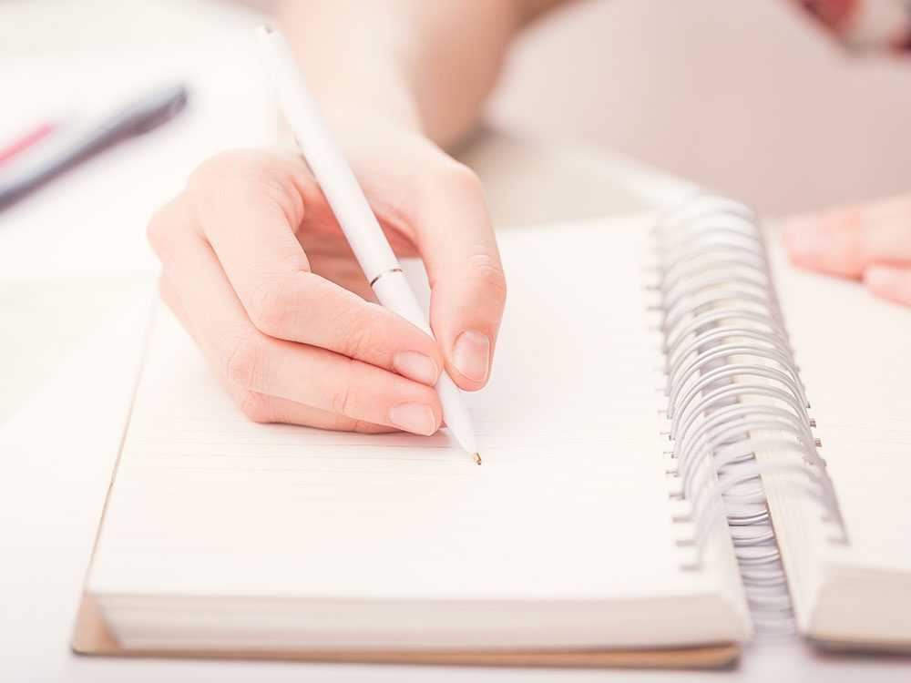 Keep a travel journal when travelling alone