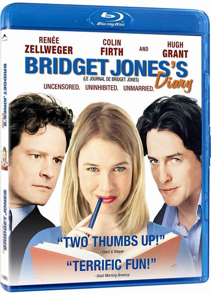 Blu ray cover of Bridget Jones's Diary