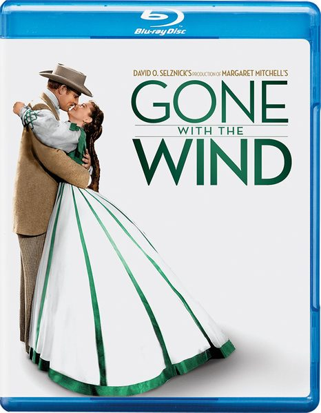 Blu ray cover of Gone with the Wind