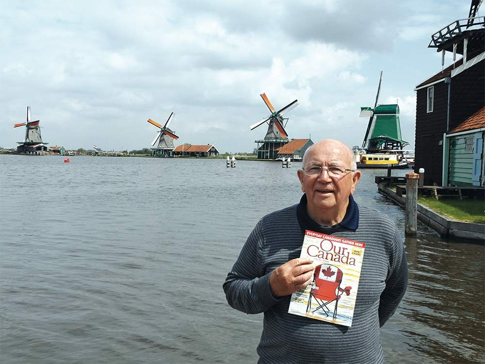 Our Canada reader in Holland