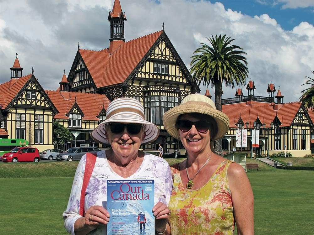 Our Canada readers in New Zealand
