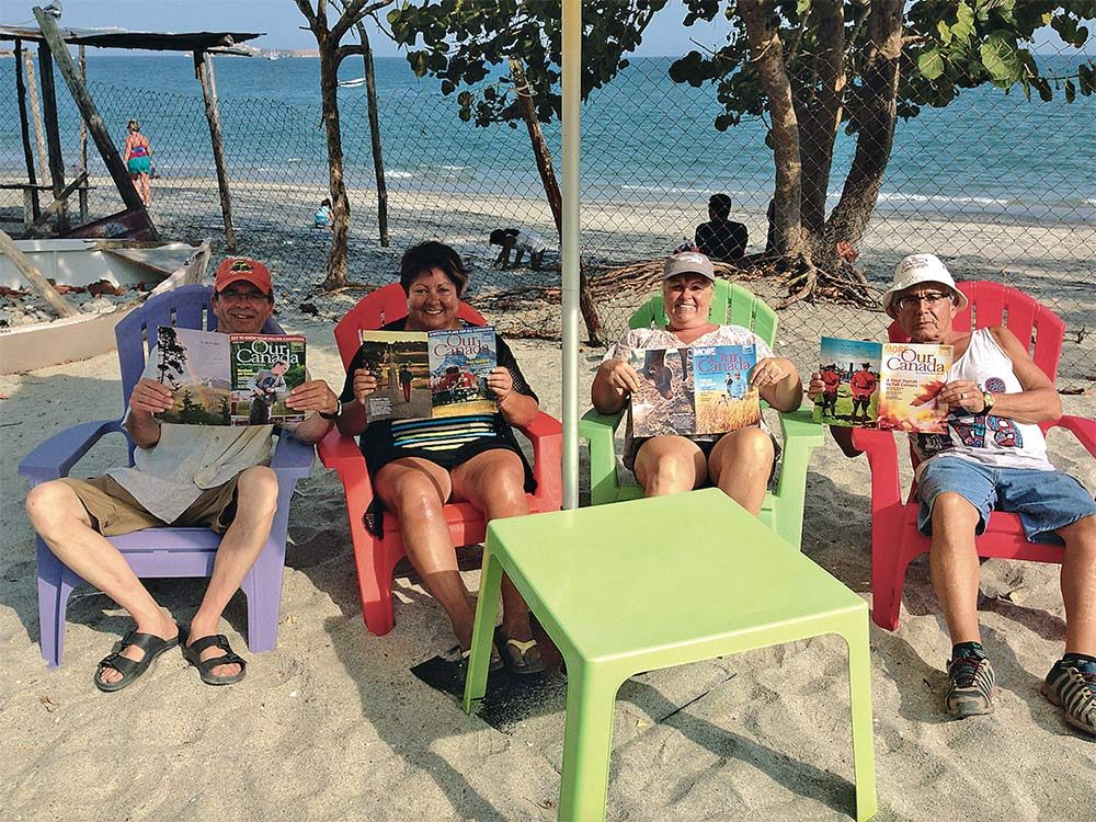 Our Canada readers in Panama
