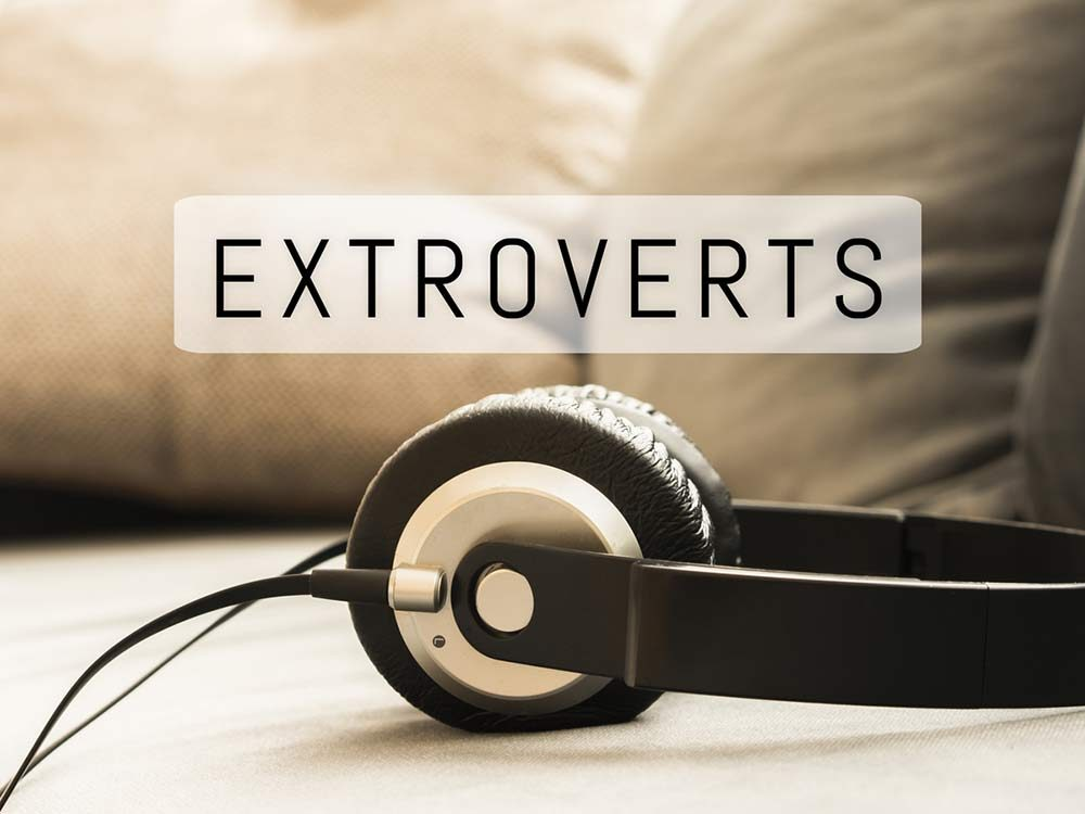 Hip-hop fans are extroverts