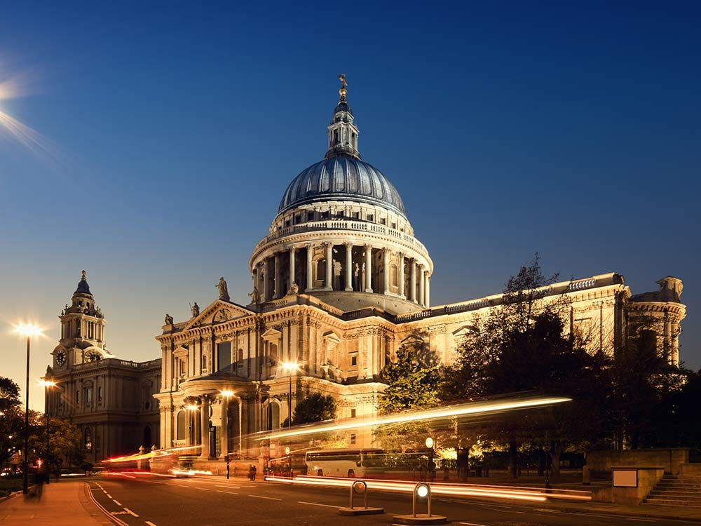 St. Paul's Cathedral in London, England