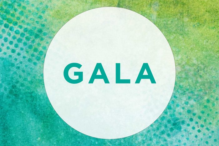 "Many people make pronunciation mistakes with ""gala"""