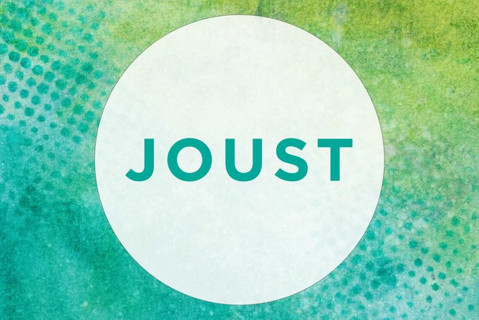 How to pronounce joust