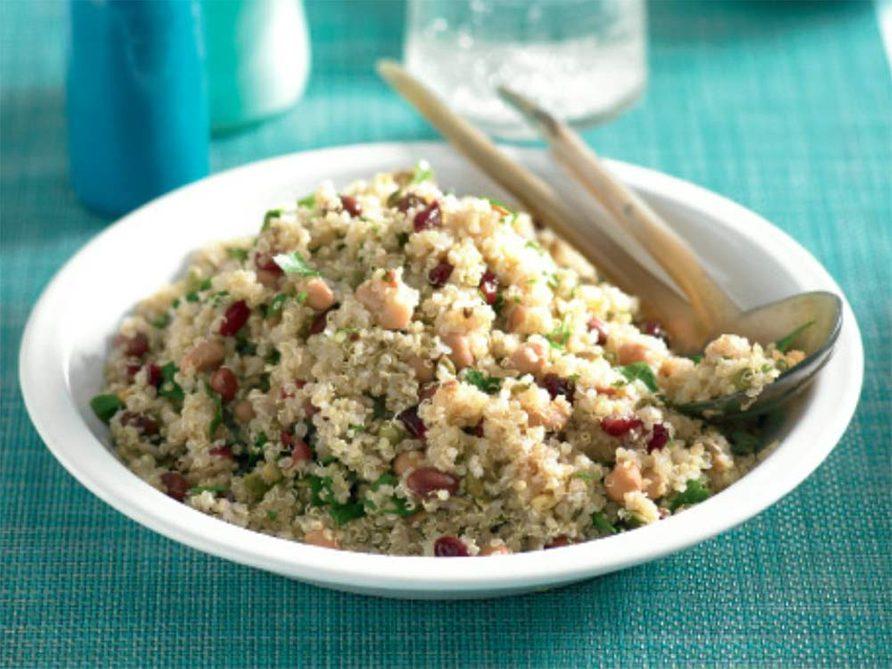 Quinoa cranberry salad