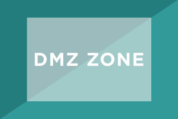 DMZ zone text