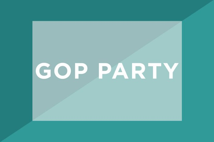 GOP Party text