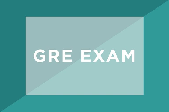 GRE Exam text