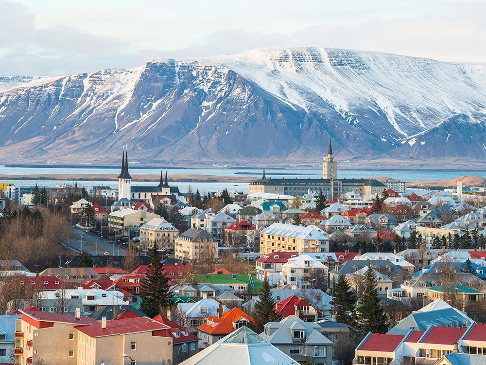 Reykjavik, Iceland, is one of Canada's hottest March Break travel trends