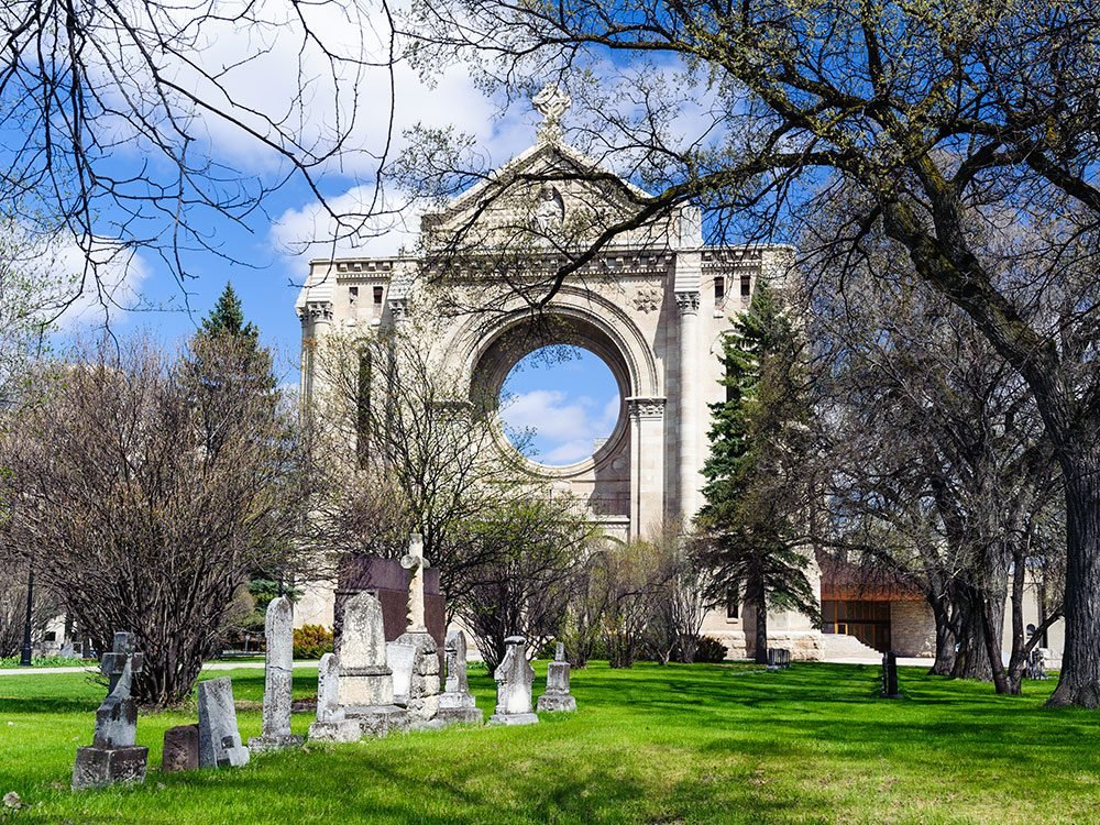 Saint Boniface Cathedral, Winnipeg
