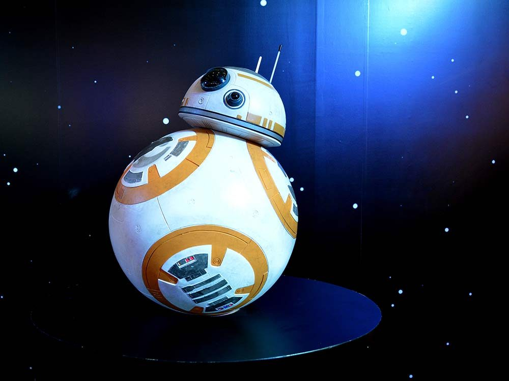 BB-8 droid from Star Wars: The Force Awakens