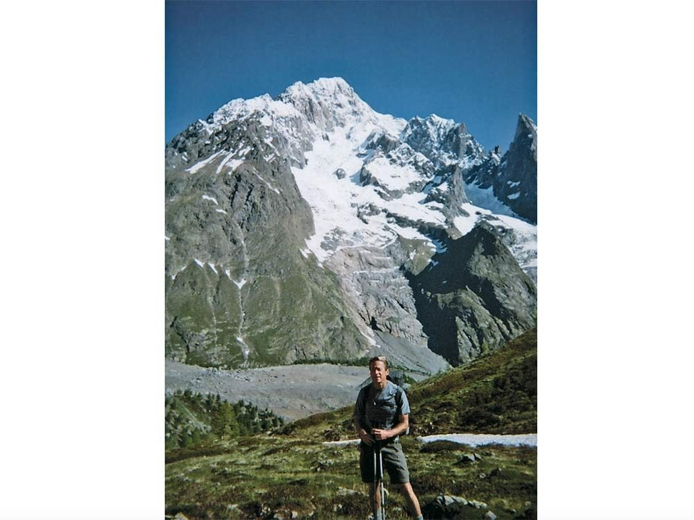 Andrew Wilson at the European Alps