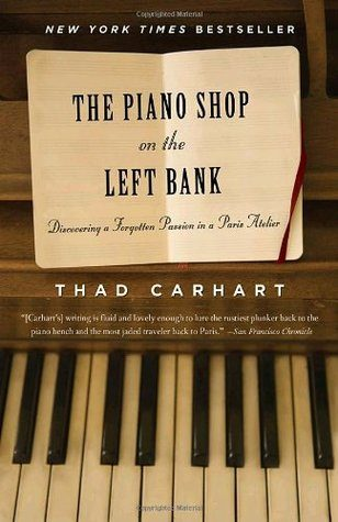 Cover of The Piano Shop on the Left Bank