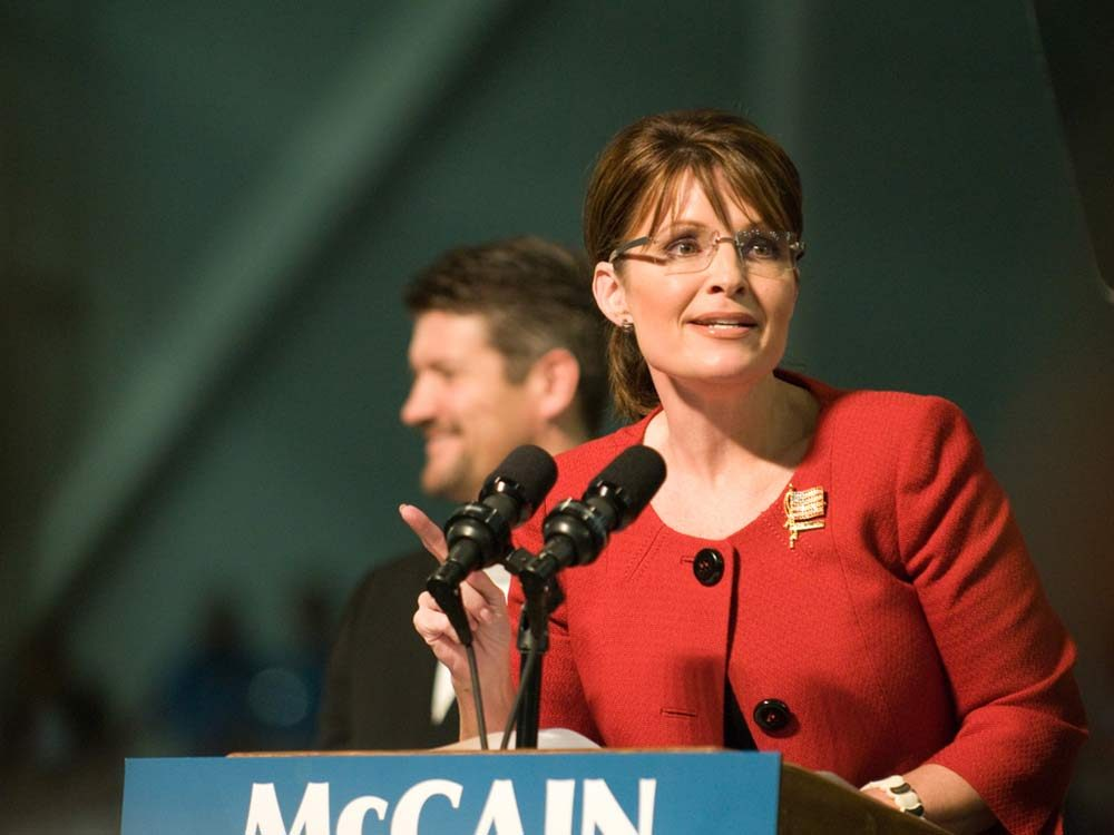 Former candidate for Vice President Sarah Palin