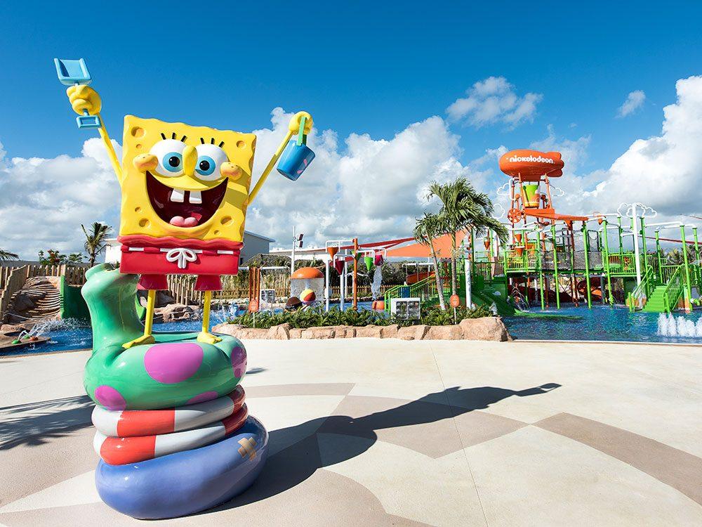 Aqua Nick Waterpark, Nickelodeon Resort, Punta Canada