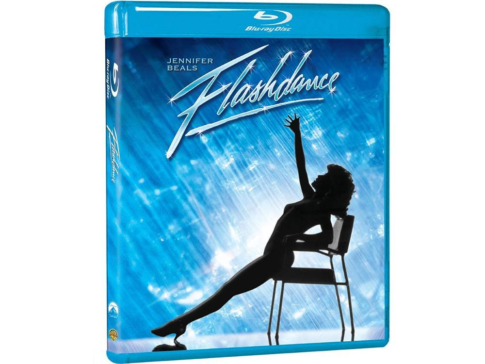 Flashdance blu ray cover