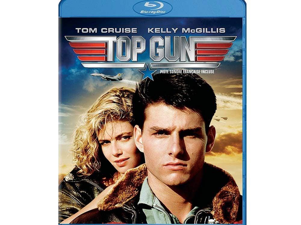 Top Gun blu ray cover