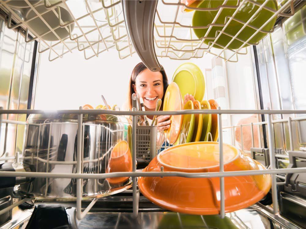 Take advantage of your dishwasher