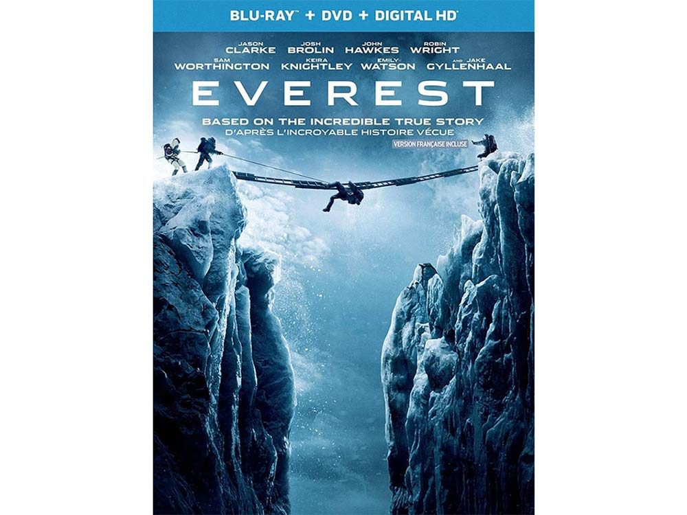 Everest blu ray cover
