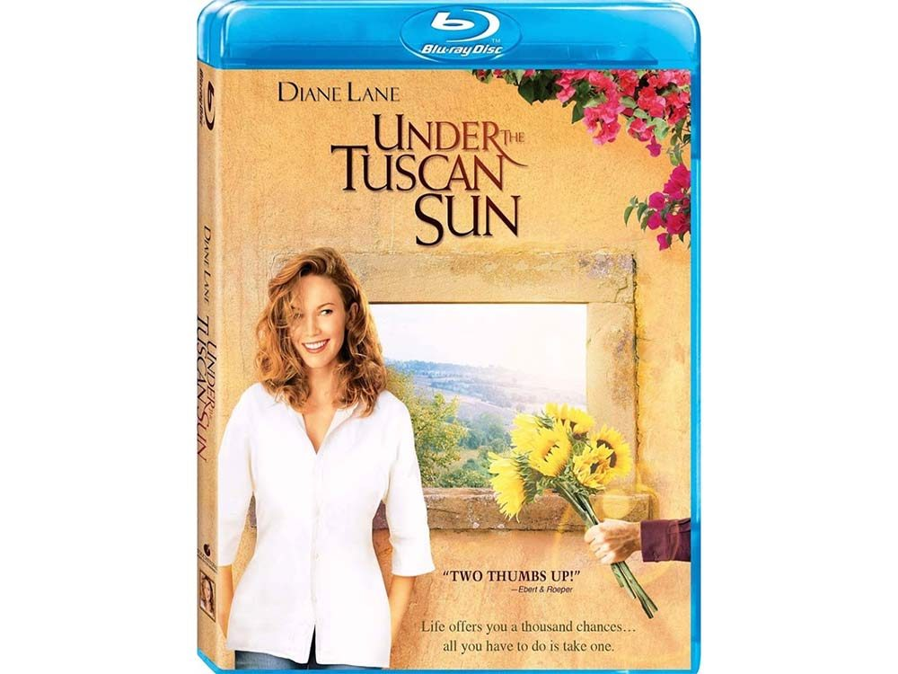 Under the Tuscan Sun blu ray cover