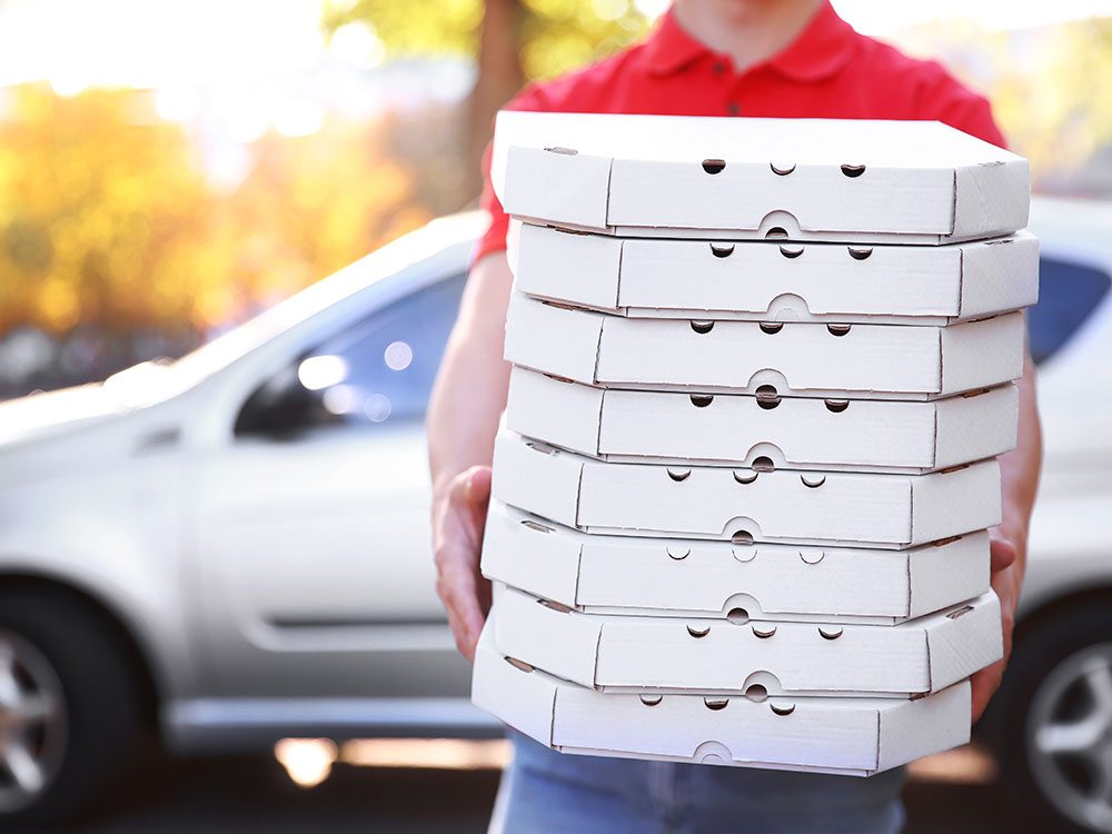 Free pizza delivery story