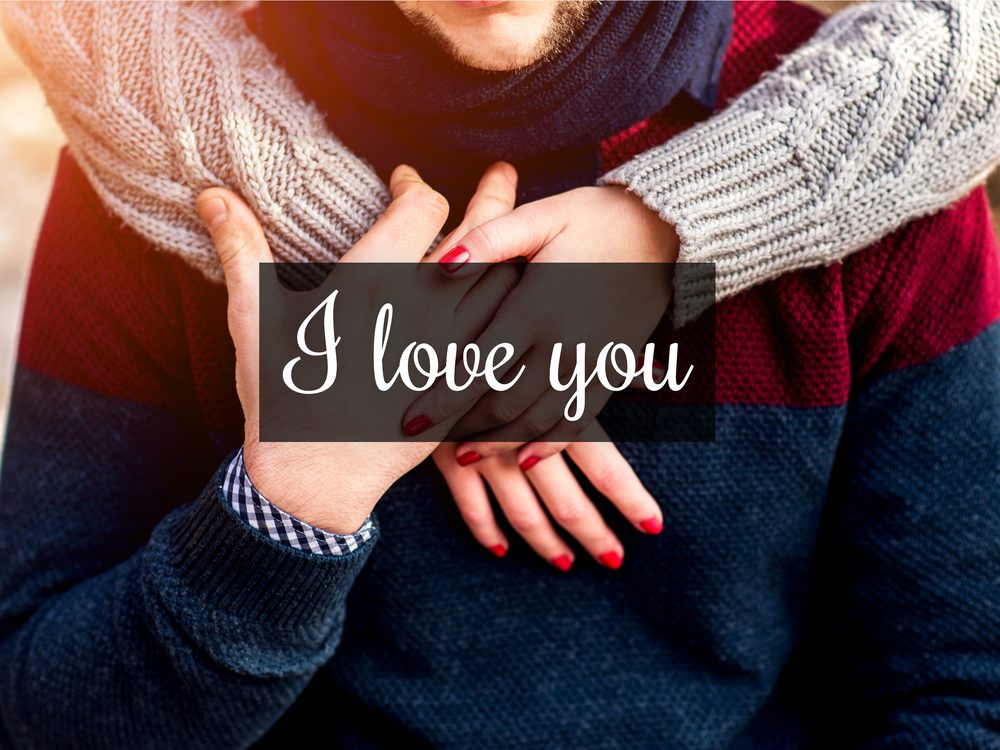 """Say """"I love you"""" as often as possible"""