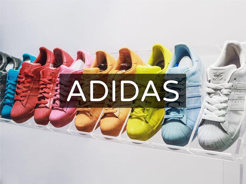 Adidas shoes in store