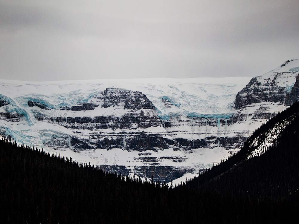 Columbia Ice Fields near Jasper, Alberta