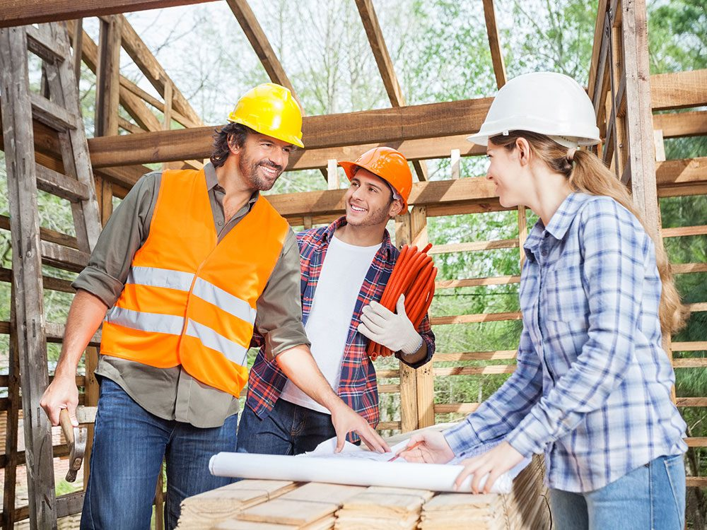 You can pay your contractor in installments