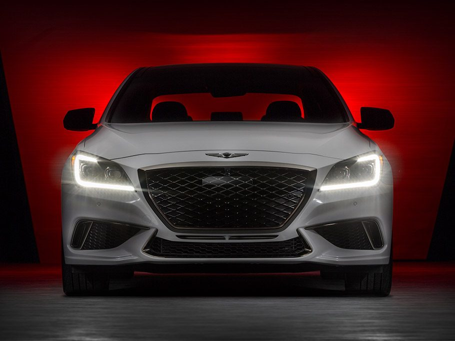 Genesis G80 Sport - front view