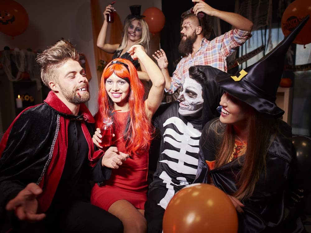 Halloween party at house