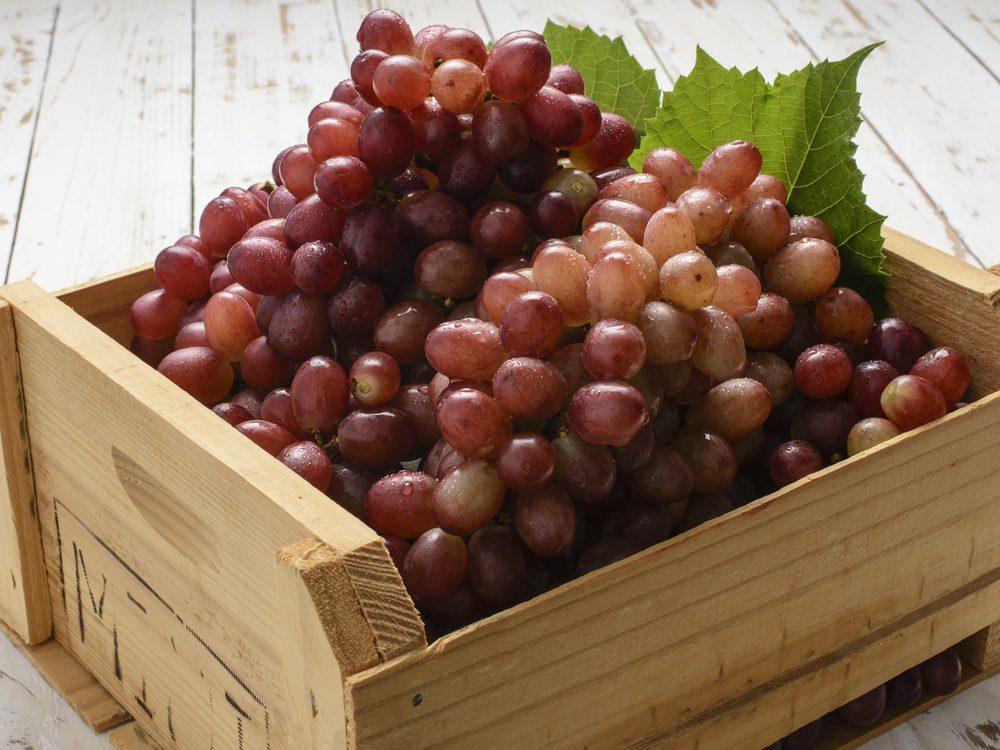 red grapes-antioxidants