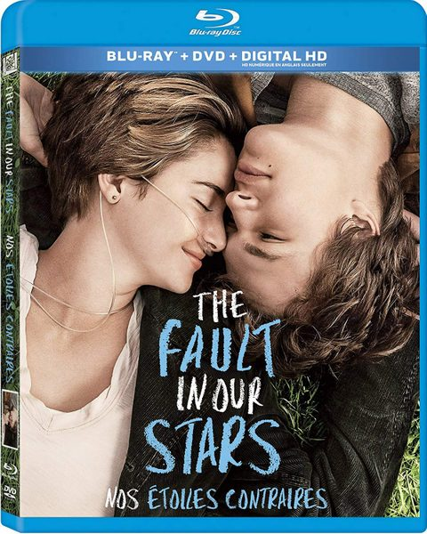 The Fault in Our Stars blu ray cover