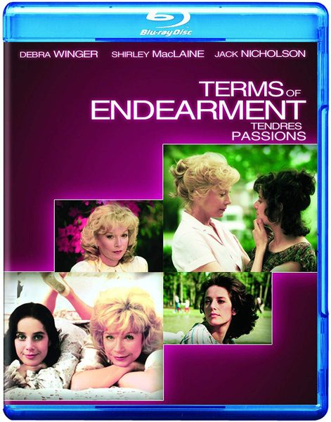 Terms of Endearment blu ray cover