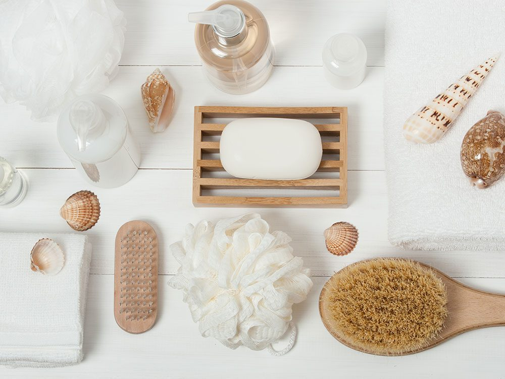 What to do with unwanted bathroom products