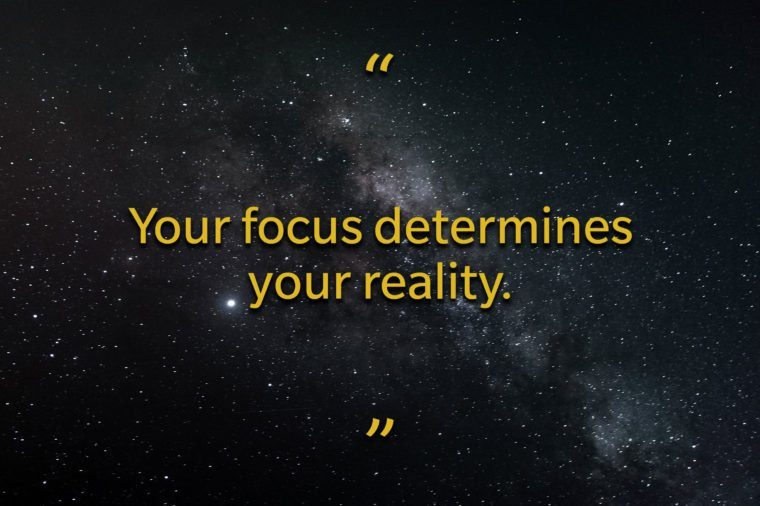 Star Wars quotes - Your focus determines your reality