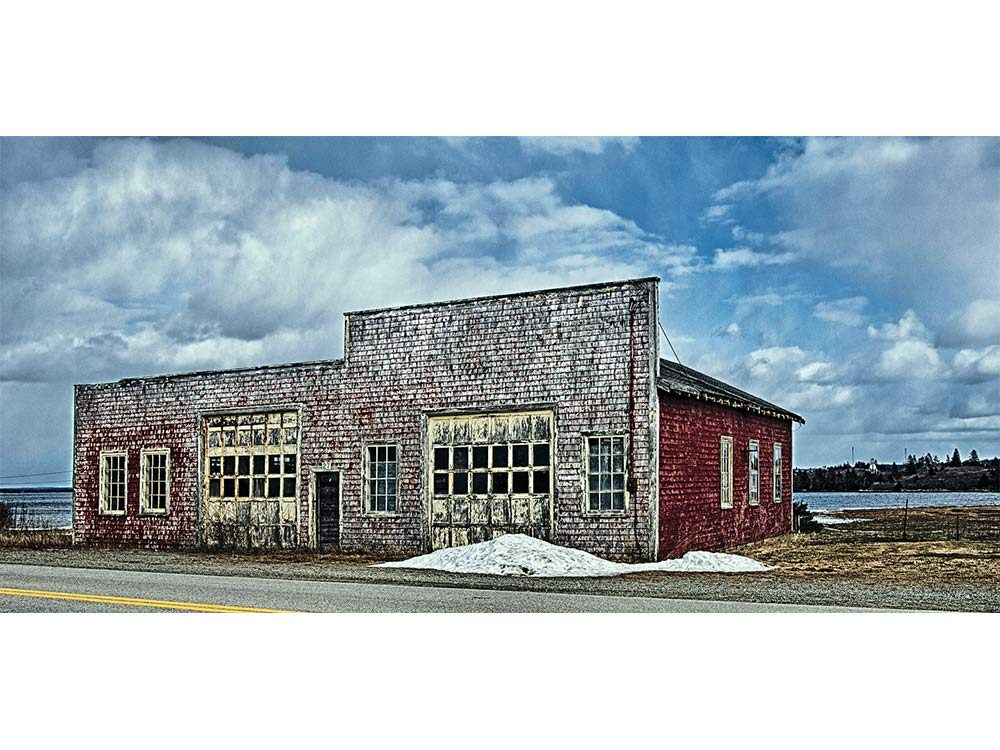 Abandoned gas station in Nova Scotia