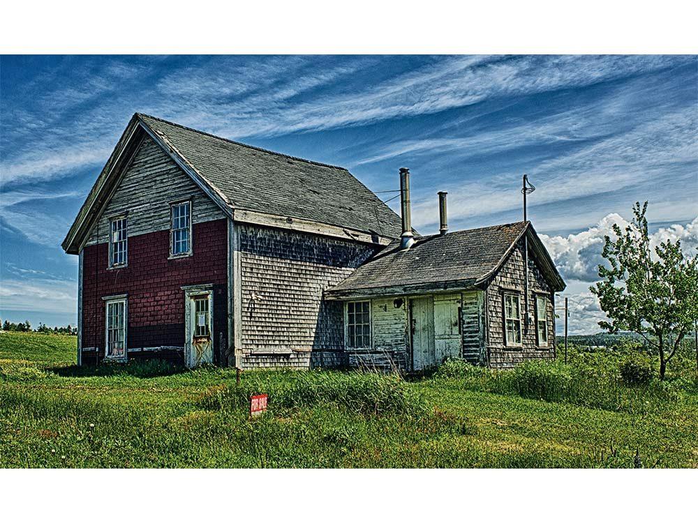 Old homestead overlooking Scots Bay