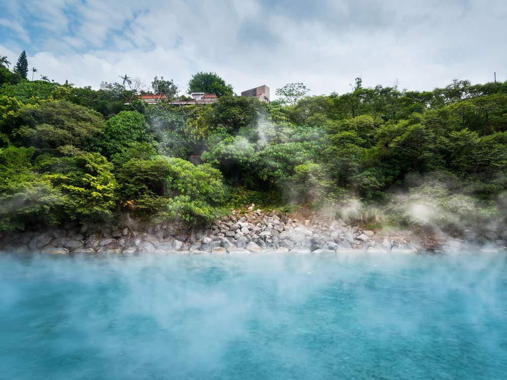 Hot Springs in Beitou, Taiwan