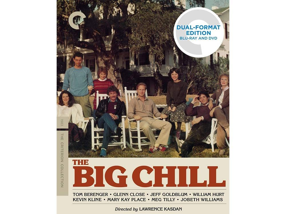 The Big Chill blu-ray cover
