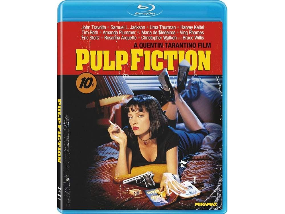Pulp Fiction blu-ray cover